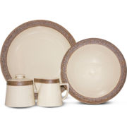 Sango Rustic Cream 5-pc Completer Set