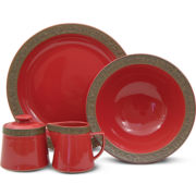 Sango Rustic Cranberry 5-pc Completer Set
