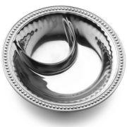Wilton Armetale® Flutes & Pearls Small Chip 'N Dip Server