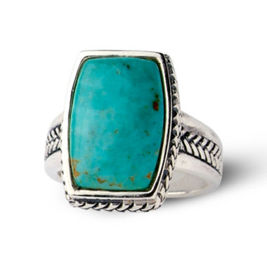 jcpenney.com | Sterling Silver Genuine Turquoise Ring