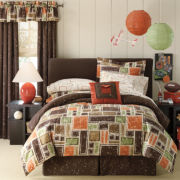 Garrett 6-pc. Twin Complete Bedding Set with Sheets Collection