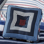 Regatta Striped Decorative Pillow