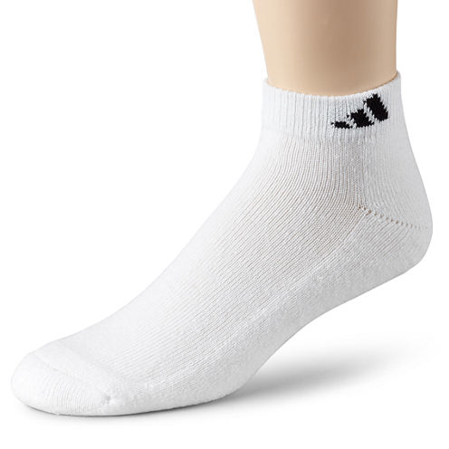 adidas® Men's 6-pk. Athletic Cushioned Low-Cut Socks - Big & Tall
