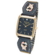 Black Hills Gold® Mens Eagle Expansion Band Watch