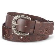 Relic® Etched Floral Studded Belt
