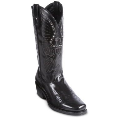 jcpenney.com | Laredo® Mens Stitched Eagle Cowboy Boots