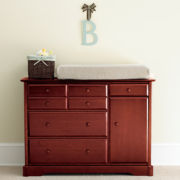 Rockland Hartford Changing Table - Cherry