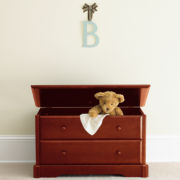 Rockland Toy Box - Cherry