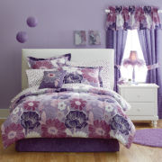 jcp home™ Angelica 6-pc. Twin Floral Complete Bedding Set with Sheets Collection