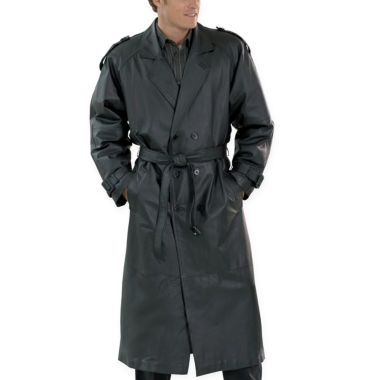 jcpenney.com | Excelled® Nappa Leather Trenchcoat