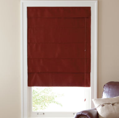 jcpenney.com | Custom Linden Street™ Suede Blackout Roman Shade - Sizes