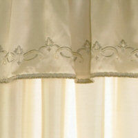 Ivory Embroidered
