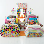 littlemissmatched® Zany Hearts Room Bedding Set