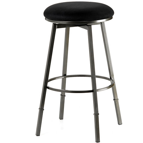 Gresham Adjustable Backless Swivel Barstool