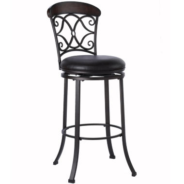 jcpenney.com | Harbor Springs Swivel Barstool with Back
