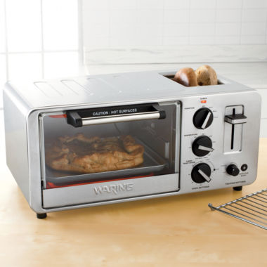 jcpenney.com | Waring Pro® 4-Slice Toaster Oven WTO150