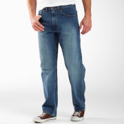 Arizona Loose-Fit Tapered-Leg Jeans