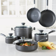 Circulon® Acclaim 10-pc. Hard-Anodized Cookware Set + BONUS