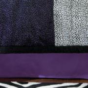 Seventeen® Leopard Love Bedskirt