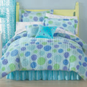 Polka Dot Swirl Comforter & Accessories