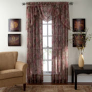 jcp home™ Adornment Rod-Pocket Sheer Panel