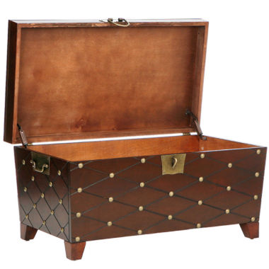 jcpenney.com | Nailhead Coffee Table Trunk