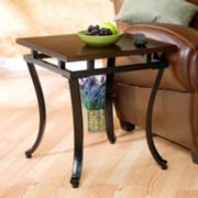 "Modesto 23"" Square End Table"