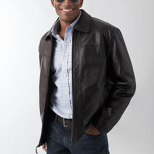 St. John's Bay® Lambskin Jacket