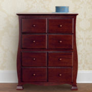 Savanna 4-Drawer Chest - Cherry