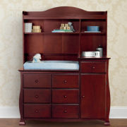 Savanna Bella Changing Table or Hutch - Cherry