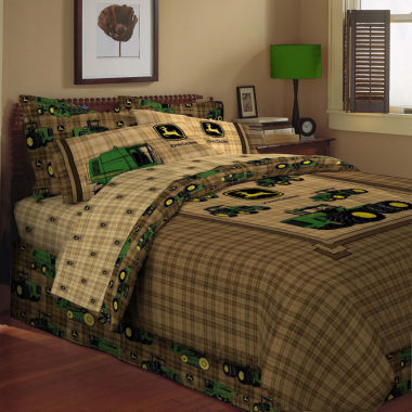 jcpenney.com | John Deere® Tractor and Plaid Pillow Sham