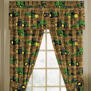 jcpenney.com | John Deere® Tractor and Plaid Window Treatments