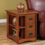 Mission Oak Cabinet Table