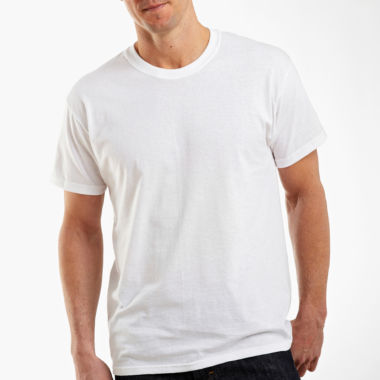 jcpenney.com | Hanes® 4-pk. Cotton Tagless Crewneck T-Shirts