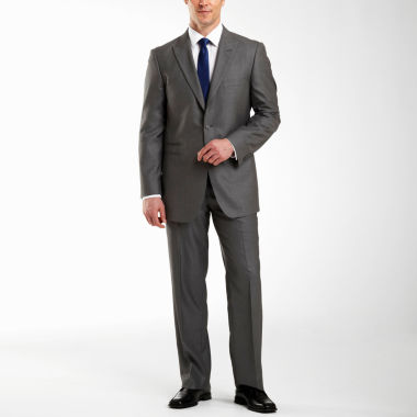 jcpenney.com | JF J. Ferrar® Gray Sharkskin Suit Separates - Big & Tall