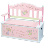 Levels of Discovery Fairy Wishes Storage Bench