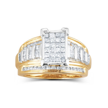 jcpenney.com | 1 CT. T.W. Diamond Engagement Ring 14K Gold