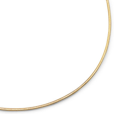 "jcpenney.com | 18-24"" 1.5mm Snake Chain 18K over Sterling"
