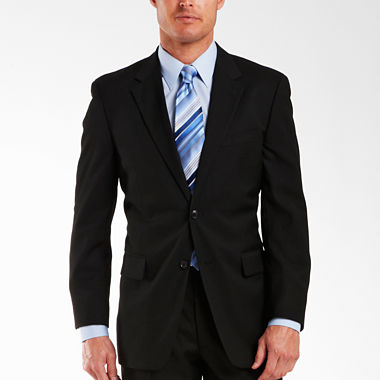Adolfo® Black Suit Jacket - Portly - JCPenney