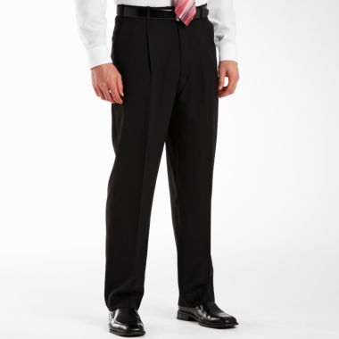jcpenney.com | Adolfo® Pleated Black Striped Suit Pants