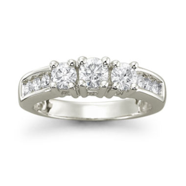 jcpenney.com | Love Lives Forever™ 1 CT. T.W. Diamond14K White Gold 3-Stone Ring
