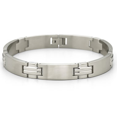 jcpenney.com | Men's Link Bracelet Stainless Steel