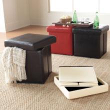 Studio Cooper Folding Storage Ottoman