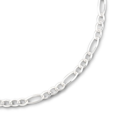 "jcpenney.com | Sterling Silver 20"" 5.2mm Figaro Chain"