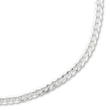 "jcpenney.com | Sterling Silver 20-28"" 3.2mm Curb Chain"