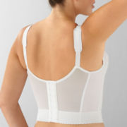 Underscore® Longline Bra, 3-Section Cup Back-Hook