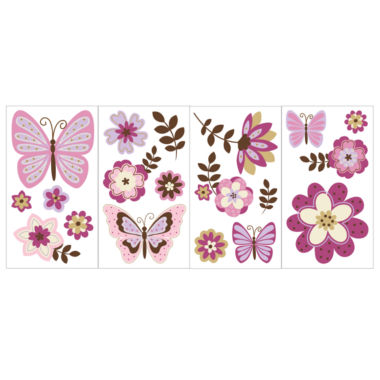 jcpenney.com | NoJo® Emily Nursery Wall Decals
