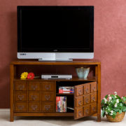 Apothecary Double-Door TV Stand