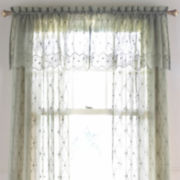 jcp home™ Lisette Embroidered Sheer Window Treatments