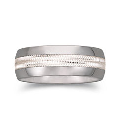 BEST VALUE! Tungsten Wedding Band, Mens 8mm Comfort Fit